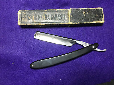 """Vintage Le Grelot 5/8""""  Straight Razor  Cut Throat - Thiers France Shave Ready"""