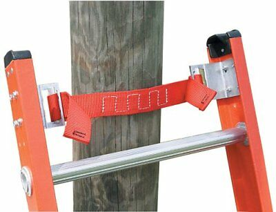 Adjustable Pole Strap Extension Ladder Accessory Slip-Resistant Rubber Grip