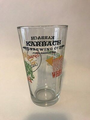 Karbach Brewing Company Beer Glass Hopadillo IPA Weekend Warrior Pale Ale