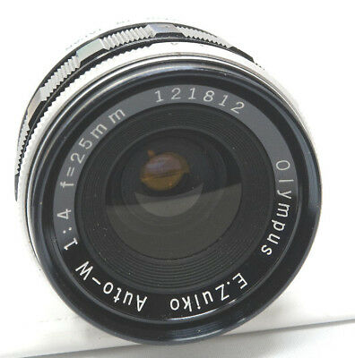 Olympus Pen F 25mm F/4 Wide-Angle Lens For Olympus Pen SLR. Lower Price!