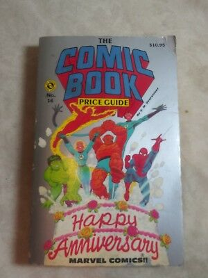 1986 Official Overstreet Comic Book Price Guide #16 Marvel Comics