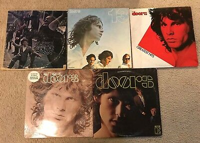 Lot Of 5 Records The Doors 13 Best Greatest Strange Days Self Titled Vinyl Lp Sc 1 St PicClick  sc 1 st  pezcame.com & Doors Best Records u0026 DOORS-- THE - The Very Best Of The Doors - 2 Sc ...