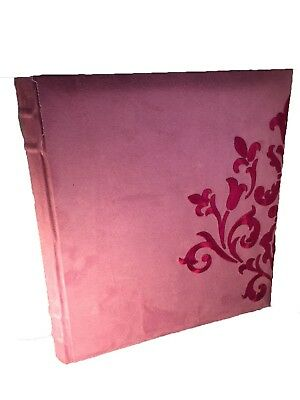 Dry Mount photo album in suede feel 33cm x 29cm glassine interpages