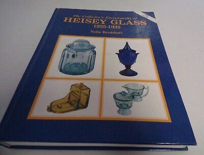 Collectors Encyclopedia Heisey Glass 1925-1938 Bredehoff 1999 HB 463 pgs Good