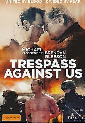 Promotional Movie Flyer - TRESPASS AGAINST US (2016) ***Michael Fassbender***