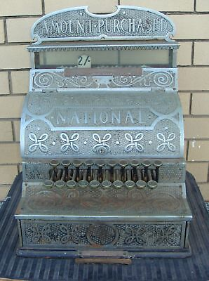 Antique National Cash Register - Antique / Vintage Till