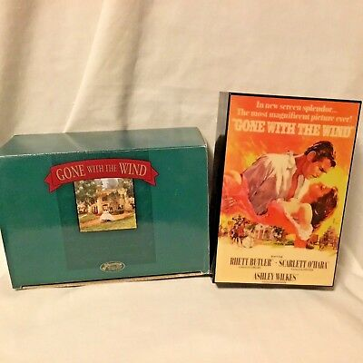 Gone With The Wind Movie Poster Music Box - San Francisco Music Box Co 2001
