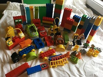 Bulk Duplo, Lightning McQueen And Mater, Racing Cars, tropy, Over 180 Pieces