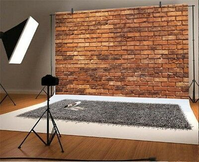 7x5ft Brick Wall Photography Vinyl Background Studio Grunge Photo Backdrop Props