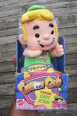 """NEW in box Vintage 1993 94 Stuffed Plush 12"""" Elroy Jetson Jetsons Doll Toy RARE"""