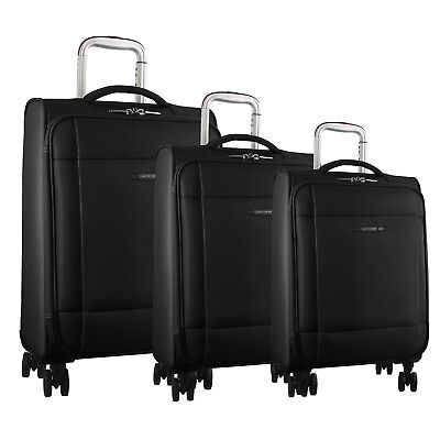 NEW Pierre Cardin Soft Luggage Case SET OF 3 (PC2643)