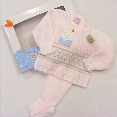 Spanish Baby Girl/'s 2 Piece Outfit In Presentation Box VB by Juliana