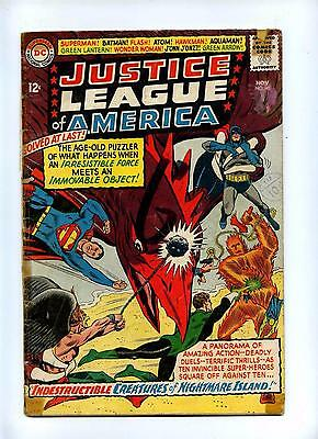 Justice League of America #40 - DC 1965 - 3rd S.A. Penguin App - GD