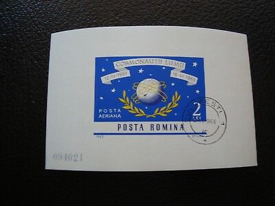 ROMANIA - stamp yvert/tellier bloc n° 57 cancelled (Z0)