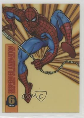 1994 Fleer Marvel Universe Series 5 Suspended Animation #6 Spider-Man Card 0s0