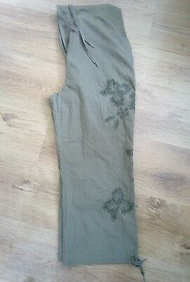 NEXT maternity cropped trousers 12