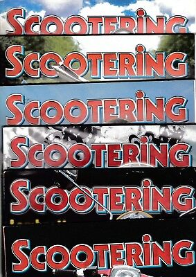 Various Issues of SCOOTERING Magazine from January 2006 to November 2009