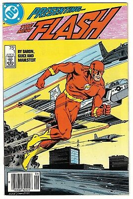 Flash #1 VF (Jun 1987, DC) Wally West 1st solo Flash series. New Teen Titans App