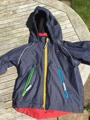 Polarn O Pyret jacket with hood age 1.5-2 years