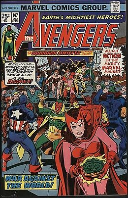 Avengers #147  Versus The Serpent Crown! Vfn+ 8.5 Cents Copy With Nice Pages