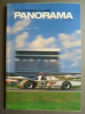 March 1989 Porsche PCA Panorama Magazine March 1989 RARE!! Awesome L@@K