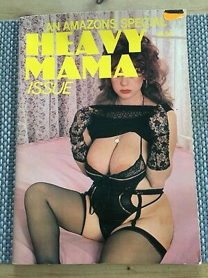 Vintage Mens Magazine  Heavy Mama c1985 - Adult Over 18s Only