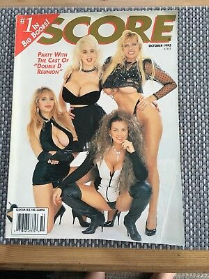 Vintage Mens Magazine - Score 1993 - Adults Over 18's Only