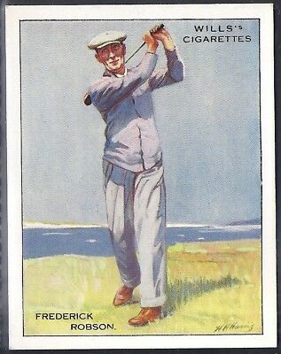 Wills-Famous Golf Ers-#19- Frederick Robson