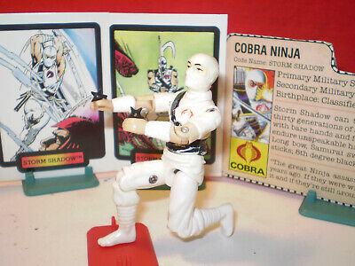 GI JOE A real american hero Storm Shadow Snake Eyes Version 1985 Poster 11x17 Art FreeShip