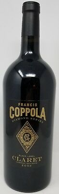 Francis Coppola 2002  Diamond Series Black Label Claret Brand New