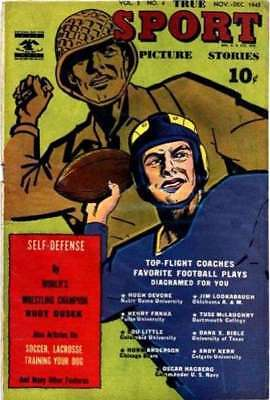 True Sport Picture Stories: Volume 3 #4 in G + condition. Street & Smith comics