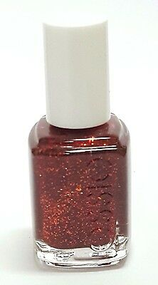 Essie RUBY SLIPPERS # 454 Nail Polish Red Glitter DC'd NEW HTF