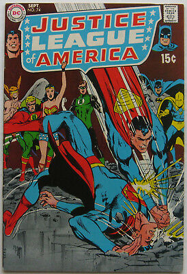 Justice League of America #74 (Sep 1969, DC), VFN, Black Canary joins JLA
