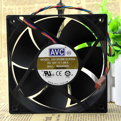 1PC new AVC free shipping DS12025B12UP024 12V 1.05A 12cm