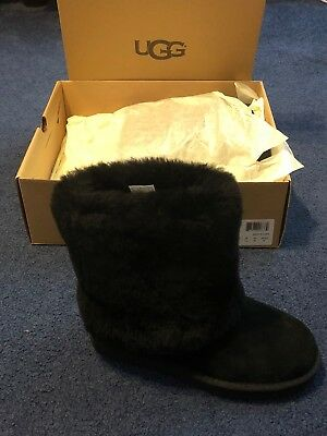 ab4ef0575b5 UGG SIZE 5 Black W Patten Uggs New With Box!