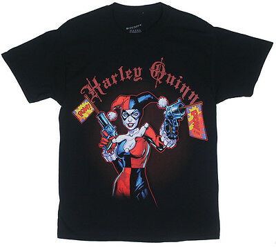 HARLEY QUINN /& POPISON IVY Licensed Adult Heather T-Shirt All Sizes