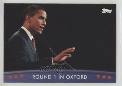 2008 Topps President Obama Collector Trading Cards 48 Round 1 In Oxford Card 1md