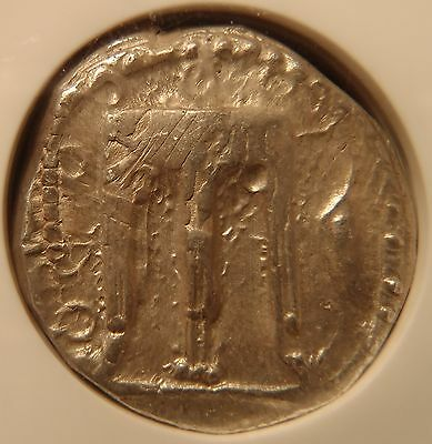 Stunning Rare 510-480 BC Ancient Greek Kroton Silver Stater NGC Certified!