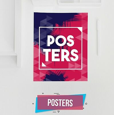 Print Custom Posters & Banners- Full Color - 2ft X 3ft (24 X36)