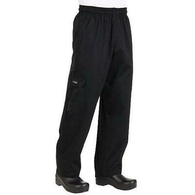 Chef Works J54 Black Cargo Pants - All Sizes