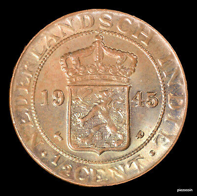 Netherlands East Indies 1/2 Cent 1945 #a616