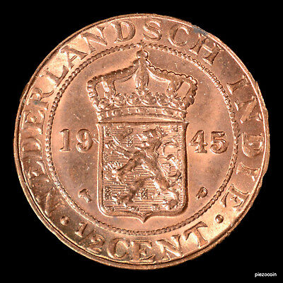 Netherlands East Indies 1/2 Cent 1945 #a752