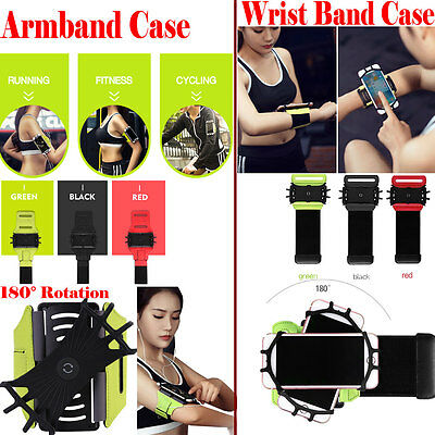 iPhone 6s 7 8 Plus S8 S9 WRIST ARMBAND CASE COVER,GENUINE ROCK GYM SPORT RUNNING