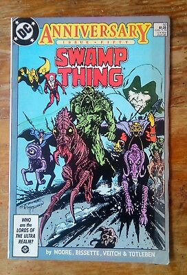DC Comics - Swamp Thing #50 - July 1986 (Alan Moore)