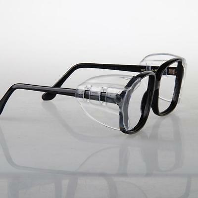 1 Pair Spec Shields Clear Side Shield For Safety Glasses Clip On @