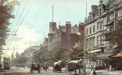 POSTCARD   SOUTHPORT   Lord  Street
