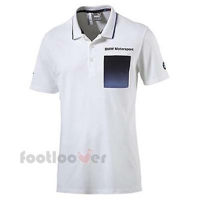 Puma BMW Motorsport Polo T-shirt 761866 02 herren white Limited Edition