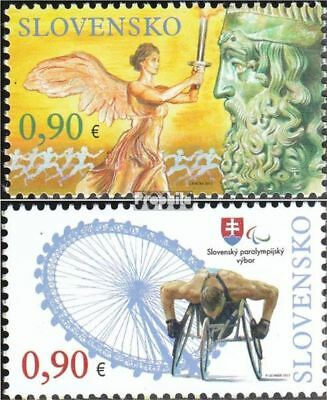Slovakia 686-687 (complete.issue.) unmounted mint / never hinged 2012 Olympia