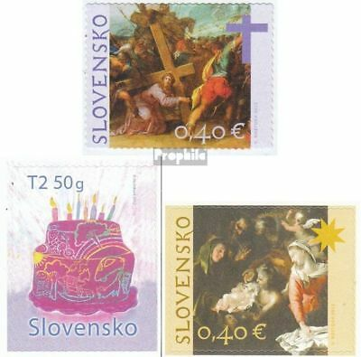 Slovakia 679,684,695 (complete.issue.) unmounted mint / never hinged 2012 Easter