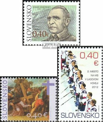 Slovakia 676,678,682 (complete.issue.) unmounted mint / never hinged 2012 Zabors